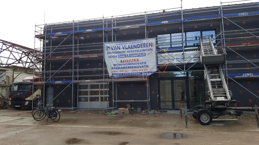Voorgevel QLT: stelling