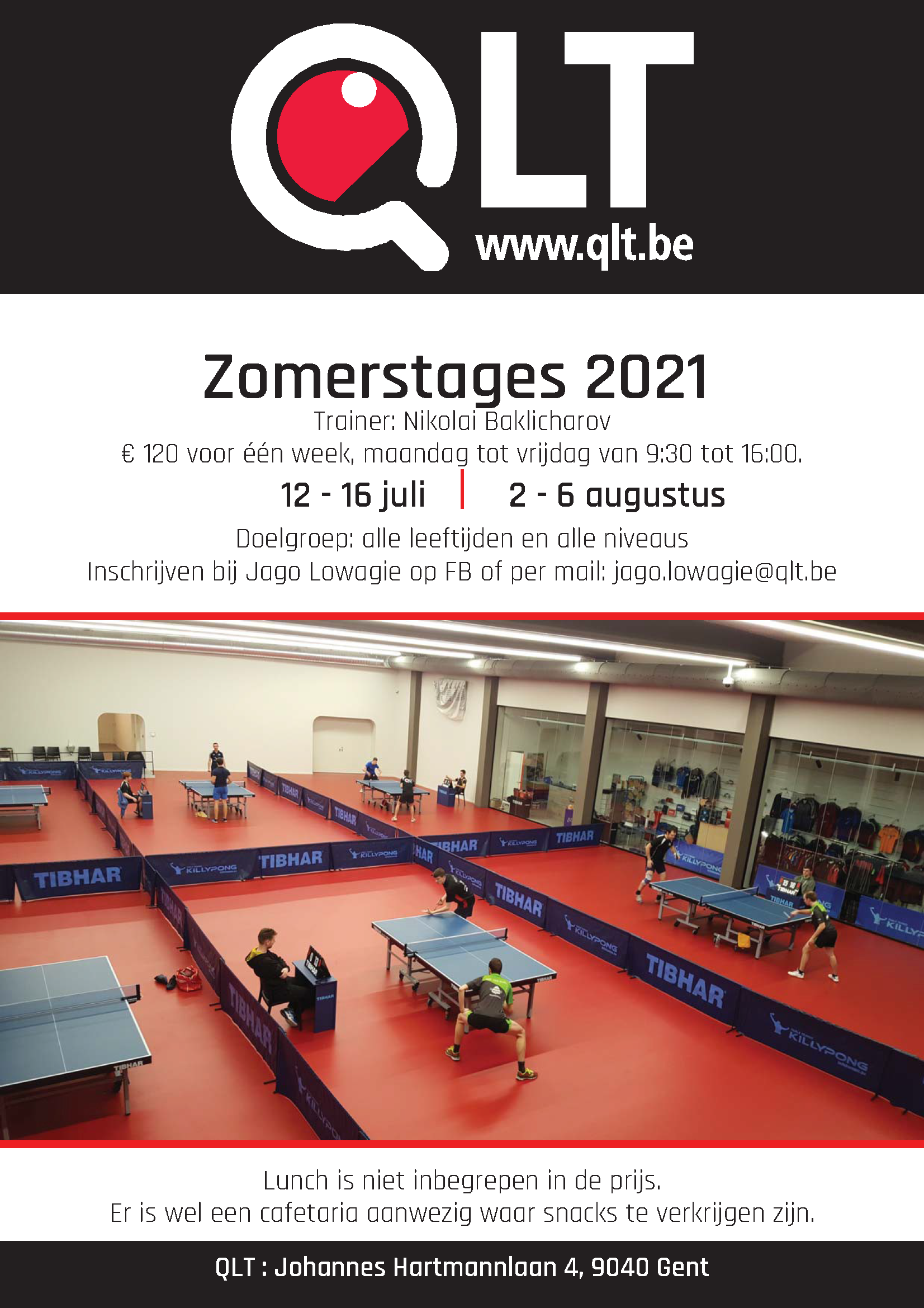 Flyer zomerstage 2021